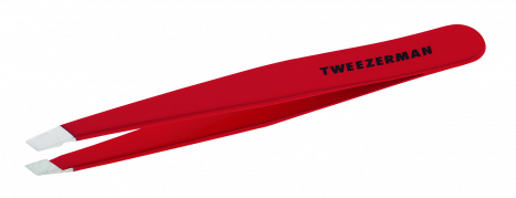 Tweezerman pęseta Slant RED